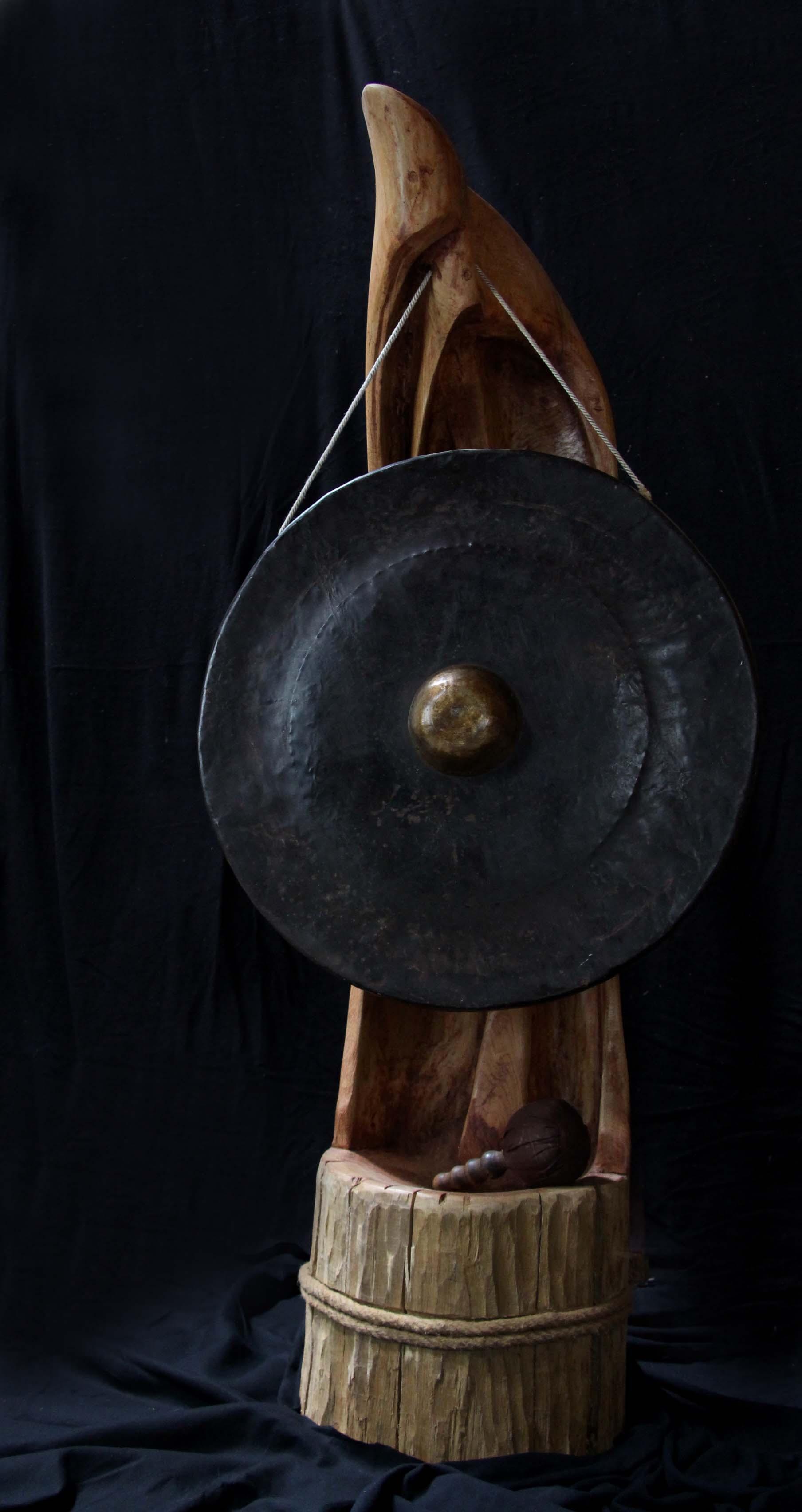 Porte gong sur pied #2
