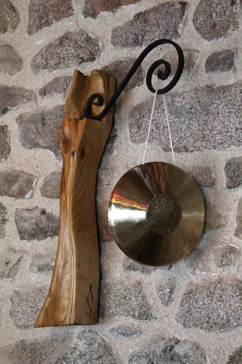 Porte gong mural pivotant #3